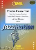 Okładka: Thomas Jérôme, Combo Concertino (Tenor Sax, Trumpet & Trombone) - Wind Band