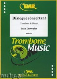 Okładka: Daetwyler Jean, Dialogue Concertant for Trombone and Harp
