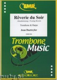 Okładka: Daetwyler Jean, Reverie du Soir for Trombone and Harpe