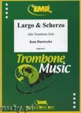 Ok�adka: Daetwyler Jean, Largo and Scherzo for Alto Trombone Solo