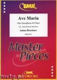 Ok�adka: Bruckner Anton, Ave Maria - Saxophone