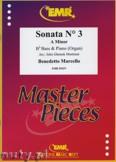 Okładka: Marcello Benedetto, Sonata N° 3 in A minor - Tuba