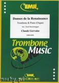 Okładka: Gervaise Claude, Danses de la Renaissance - Trombone