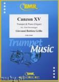 Ok�adka: Grillo Giovanni Battista, Canzon XV - Trumpet