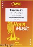 Ok�adka: Grillo Giovanni Battista, Canzon XV - Horn