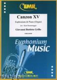 Ok�adka: Grillo Giovanni Battista, Canzon XV - Euphonium