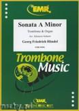 Ok�adka: H�ndel George Friedrich, Sonate A-moll - Trombone