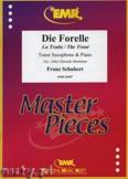 Okładka: Schubert Franz, Die Forelle - Saxophone