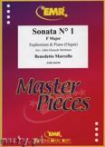 Ok�adka: Marcello Benedetto, Sonata N� 1 in F major - Euphonium