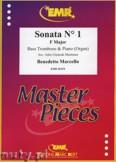 Okładka: Marcello Benedetto, Sonata N° 1 in F major - Trombone