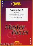 Ok�adka: Marcello Benedetto, Sonata N� 2 in E minor - Trombone