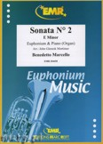 Okładka: Marcello Benedetto, Sonata N° 2 in E minor - Euphonium