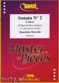 Okładka: Marcello Benedetto, Sonata N° 2 in E minor - Tuba