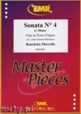 Ok�adka: Marcello Benedetto, Sonata N� 4 in G minor - Flute