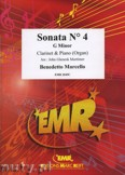 Ok�adka: Marcello Benedetto, Sonata N� 4 in G minor - CLARINET