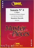 Ok�adka: Marcello Benedetto, Sonata N� 4 in G minor - Trombone