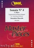 Ok�adka: Marcello Benedetto, Sonata N� 4 in G minor - Euphonium