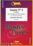 Ok�adka: Marcello Benedetto, Sonata N� 4 in G minor - Trombone