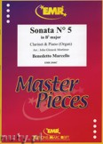 Ok�adka: Marcello Benedetto, Sonata N� 5 in Bb major - CLARINET