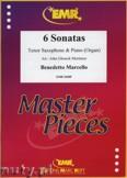 Okładka: Marcello Benedetto, 6 Sonatas - Saxophone