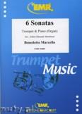 Ok�adka: Marcello Benedetto, 6 Sonatas - Trumpet