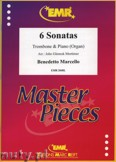 Okładka: Marcello Benedetto, 6 Sonatas - Trombone