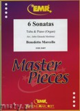 Ok�adka: Marcello Benedetto, 6 Sonatas - Tuba