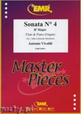 Ok�adka: Vivaldi Antonio, Sonata N� 4 in Bb major - Flute