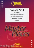 Ok�adka: Vivaldi Antonio, Sonata N� 4 in Bb major - Oboe
