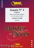Ok�adka: Vivaldi Antonio, Sonata N� 4 in Bb major - BASSOON