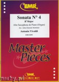 Ok�adka: Vivaldi Antonio, Sonata N� 4 in Bb major - Saxophone