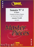 Ok�adka: Vivaldi Antonio, Sonata N� 4 in Bb major - Trumpet