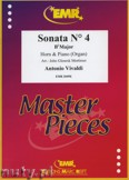 Ok�adka: Vivaldi Antonio, Sonata N� 4 in Bb major - Horn