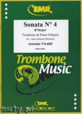 Ok�adka: Vivaldi Antonio, Sonata N� 4 in Bb major - Trombone