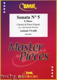Ok�adka: Vivaldi Antonio, Sonata N� 5 in E minor - CLARINET