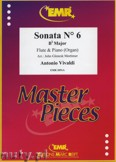 Ok�adka: Vivaldi Antonio, Sonata N� 6 in Bb major - Flute