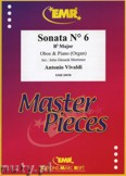 Ok�adka: Vivaldi Antonio, Sonata N� 6 in Bb major - Oboe
