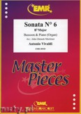 Ok�adka: Vivaldi Antonio, Sonata N� 6 in Bb major - BASSOON