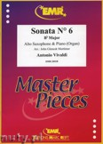 Ok�adka: Vivaldi Antonio, Sonata N� 6 in Bb major - Saxophone