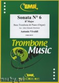 Ok�adka: Vivaldi Antonio, Sonata N� 6 in Bb major - Trombone