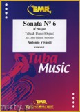 Ok�adka: Vivaldi Antonio, Sonata N� 6 in Bb major - Tuba