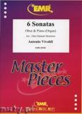 Okładka: Vivaldi Antonio, 6 Sonatas - Oboe
