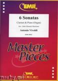 Okładka: Vivaldi Antonio, 6 Sonatas - CLARINET