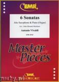 Okładka: Vivaldi Antonio, 6 Sonatas - Saxophone