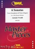 Ok�adka: Vivaldi Antonio, 6 Sonatas - Saxophone