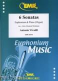 Okładka: Vivaldi Antonio, 6 Sonatas - Euphonium