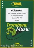 Ok�adka: Vivaldi Antonio, 6 Sonatas - Trombone