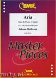 Okładka: Matheson Johann, Aria - Flute