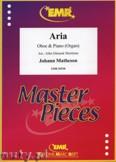 Ok�adka: Matheson Johann, Aria - Oboe