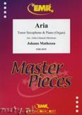 Okładka: Matheson Johann, Aria - Saxophone